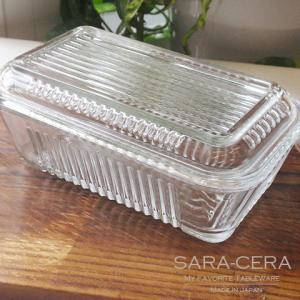 お盆休みセール!グラス ガラス ガラスのバターケース トルコ製〔お取り寄せ商品〕|sara-cera-y