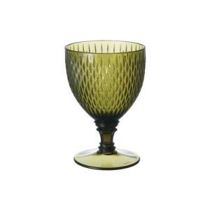 洋食器 6個セットROSETTE ワイングラス GR グリーン (プラスチック アクリル 割れない) sara-cera-y