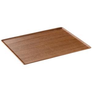 木製 トレー 6枚セット PLACE MAT プレイスマット 43x33cm  チーク ランチョンマット お盆 カフェ おしゃれ〔お取り寄せ商品〕|sara-cera-y