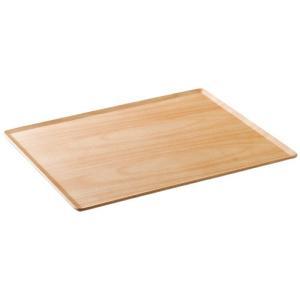 木製 トレー 6枚セットPLACE MAT プレイスマット 43x33cm  バーチ お盆 カフェ おしゃれ〔お取り寄せ商品〕|sara-cera-y