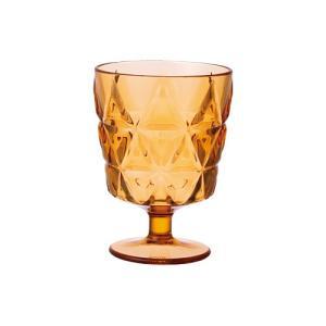 洋食器 6個セットTRIA トリア ワイングラス オレンジ 270ml ワイングラス(プラスチック アクリル 割れない) sara-cera-y