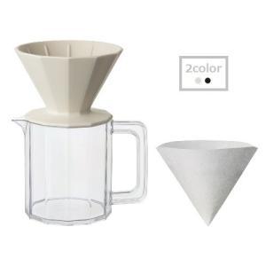 ALFRESCO ブリューワージャグセット 4cups コーヒー シンプル おしゃれ|sara-cera-y