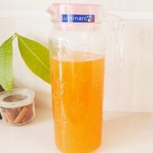 グラス ガラス ファニーフラワー ジャグ ピッチャーポット〔お取り寄せ商品〕|sara-cera-y