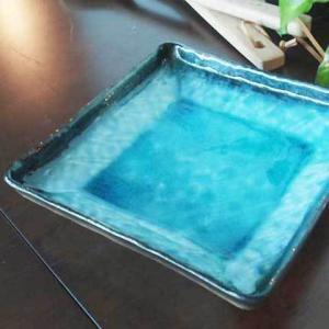 ★内容:流泉ブルー 正角深皿 ★サイズ:17×17×3.5cm ★素材:陶磁器/日本製 ★電子レンジ...