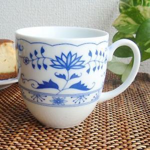 洋食器 マグカップ おしゃれ スタイリッシュ 2個セット BlueRoyalOnion ブルーロイヤルオニオン ペアセット 日本製|sara-cera-y