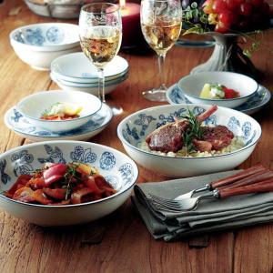 洋食器 ブローチズ パスタ&カレー皿セット sara-cera-y