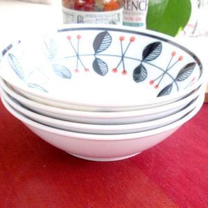 洋食器 4個セットRaspberry ラズベリー サラダボール |sara-cera-y