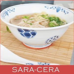 和食器 軽くてしっかりラーメンサイズ スタイリッシュ麺鉢 花伊万里 どんぶり 丼 麺類 オシャレ(お取り寄せ商品) sara-cera-y