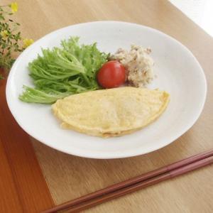21日までSALE価格!和食器 和のぬくもり 白粉引 和皿 おばんざい皿 22.5cm   |sara-cera-y