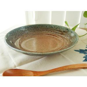 11/26 11:59までSALE!和食器 冷やし中華プレート 渕青うのふ藍流し浅皿 おしゃれ 麺鉢 〔お取り寄せ商品〕|sara-cera-y