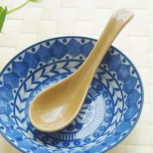 和食器 アウトレット アウトレット 口当たり滑らかレンゲ スープ蓮華 カフェオレ カトラリー オシャレ(返品交換不可)|sara-cera-y