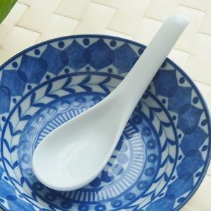 和食器 アウトレット アウトレット 口当たり滑らかレンゲ デザート蓮華 白 カトラリー オシャレ(返品交換不可)|sara-cera-y