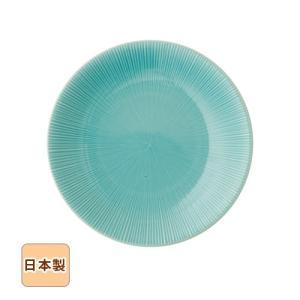 21日までSALE価格!トルコブルー青磁 千段 大皿30.5cm 和食器 日本製 美濃焼|sara-cera-y