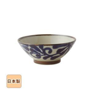 琉球るり唐草 そばどんぶり 19cm 和食器 日本製 美濃焼 sara-cera-y