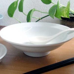 中華大好き とろ〜り玉子の天津丼 白磁 どんぶり|sara-cera-y