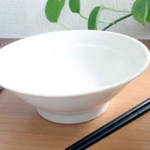 中華大好き 昔ながらの醤油ラーメン丼 白磁 |sara-cera-y