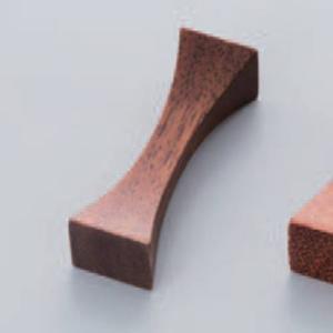 箸置 木製箸置 アーチ 黒檀 レスト sara-cera-y