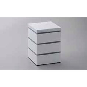 21日までSALE価格!越前塗 11cm パーティボックス ホワイト 重箱 ABS樹脂 PE樹脂 ウレタン塗装 日本製|sara-cera-y