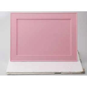 12/20までSALE!越前塗 42cm 炉緑盆 ピンク ランチョンマット お盆 テーブルマット ABS樹脂 ウレタン塗装 日本製 sara-cera-y