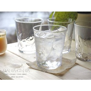 お盆休みセール!グラス ガラス 4個セット 和の硝子フリーカップタンブラー 〔お取り寄せ商品〕|sara-cera-y