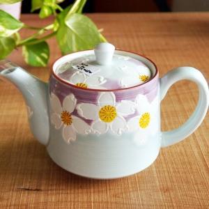 有田焼 波佐見焼 和食器 山下窯 一珍花 ティーポット 茶漉し付き|sara-cera-y