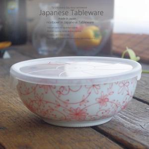 美濃焼 芽吹赤 レンジパック 中鉢 万能鉢 和食器 うつわ 食器 おうちごはん|sara-cera