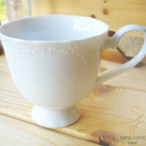 洋食器 マグカップ パレスリストランテ 白い食器 sara-cera