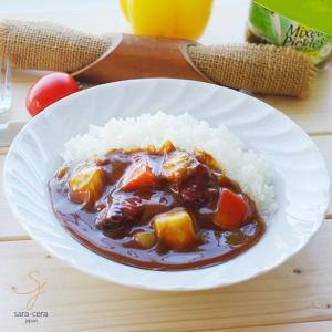 白い食器 スタンダードウェーブ パスタ カレーディッシュ 21cm|sara-cera