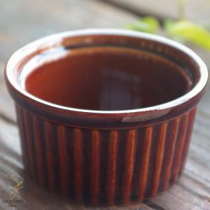 洋食器 オーブンスフレココット ブラウン茶色 Mサイズ グラタン|sara-cera