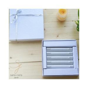 5個セット 三角レスト ロングタイプ 白い三角レスト 白い食器 ギフト箱入り 和食器 箸置き おしゃ...