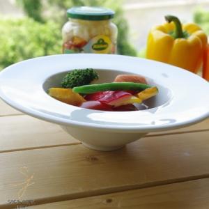 白い食器 ワインに合うお料理レシピホワイト21cmリゾットボール 洋食器 食器 カフェ 人気|sara-cera