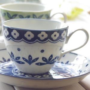 美しいボレスワヴィエツの街 リーフドット ミニスープカップ(カップ単品) コーヒーカップ 食器 紅茶 珈琲 カフェ おうち うつわ 陶器 美濃焼 日本製|sara-cera