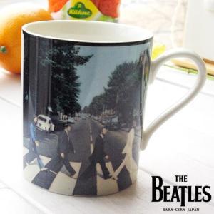 THE BEATLES ビートルズ マグカップ (アビイロード)ジョン ポール ジョージ リンゴ|sara-cera