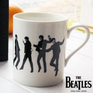 THE BEATLES ビートルズ マグカップ 4人はアイドル (ジャンプ)ジョン ポール ジョージ リンゴ|sara-cera