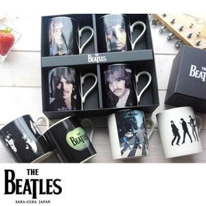 【送料無料】8個セット THE BEATLES ビートルズコレクターセットマグカップ ジョン ポール ジョージ リンゴ  食器セット ギフト|sara-cera