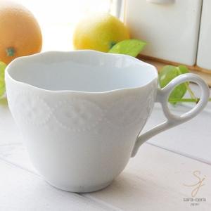白い花と器の物語 ミニスープカップ 白い食器|sara-cera