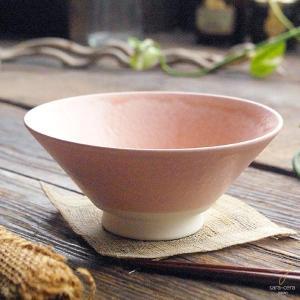 手のりがいい軽量 ご飯茶碗 (ピンク窯変) 和食器 和皿 和風 飯碗 茶碗 陶器 手づくり