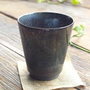 手のりがいい フリーカップ (黒ブラックラスター) 和食器 和風|sara-cera