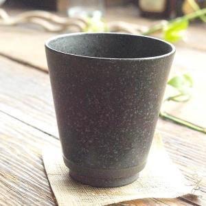 手のりがいい フリーカップ (ブラック黒結晶) 和食器 和風|sara-cera