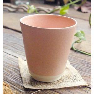 手のりがいい フリーカップ (ピンク窯変) 和食器 和風|sara-cera