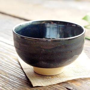 手のりがいい 煎茶碗 ミニ小鉢 (黒ブラックラスター) 和食器 和風|sara-cera