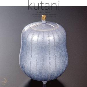 九谷焼 4.2号香炉 紫苑釉裏銀彩 和食器 日本製 ギフト おうち ごはん うつわ 陶器|sara-cera