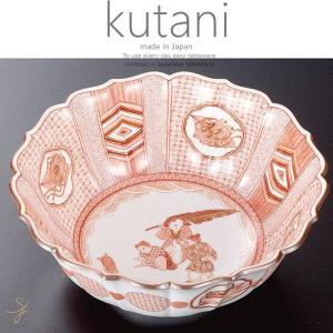 九谷焼 飾鉢 ボウル ボール 赤絵唐子文 和食器 日本製 ギフト おうち ごはん うつわ 陶器|sara-cera