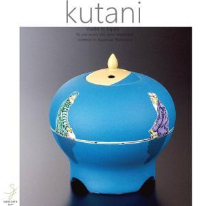 九谷焼 5.2号香炉 色絵 遠い日香器 静座 和食器 日本製 ギフト おうち ごはん うつわ 陶器|sara-cera