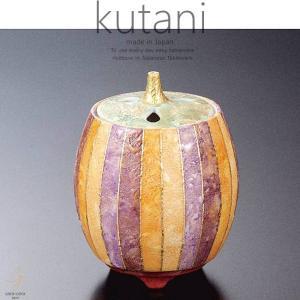 九谷焼 4号香炉 彩色金彩 和食器 日本製 ギフト おうち ごはん うつわ 陶器|sara-cera