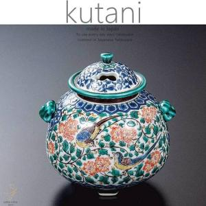 九谷焼 4号香炉 色絵双鳥 和食器 日本製 ギフト おうち ごはん うつわ 陶器|sara-cera