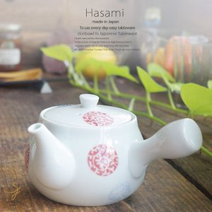 和食器 波佐見焼 急須 三色タコ丸紋 おうち ごはん うつわ 陶器 日本製 カフェ 食器|sara-cera