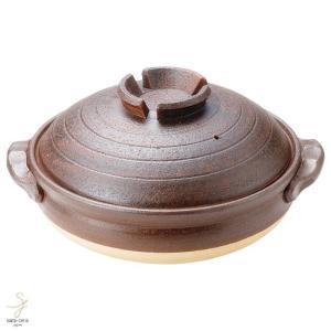 和食器 信楽焼 鉄赤 10号土鍋 おうち カフェ 食器 陶器 しがらき焼 らいすぼ〜る 春日井 軽井沢|sara-cera