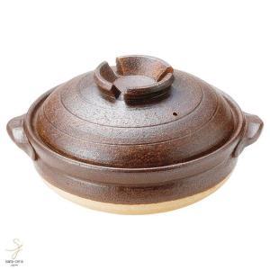 和食器 信楽焼 鉄赤 8号土鍋 おうち カフェ 食器 陶器 しがらき焼 らいすぼ〜る 春日井 軽井沢|sara-cera