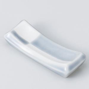 和食器 市松 箸置 ブル− 箸置き 卓上小物 レスト お箸置き 陶器 食器 うつわ おうち ごはん ...